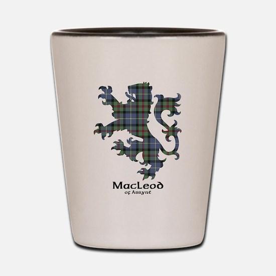 Lion-MacLeodAssynt Shot Glass
