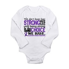 Alzheimer's HowStrongW Long Sleeve Infant Bodysuit