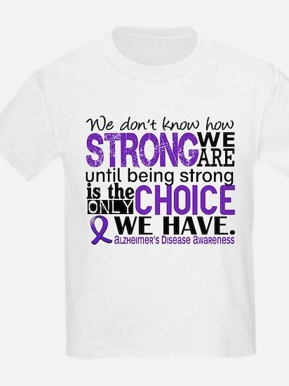 Alzheimer's HowStrongWeAre T-Shirt
