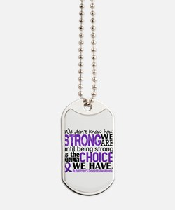 Alzheimer's HowStrongWeAre Dog Tags