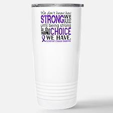 Alzheimer's HowStrongWe Travel Mug