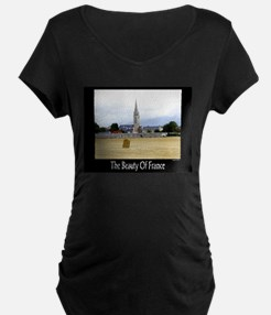 The Beauty of France Maternity T-Shirt