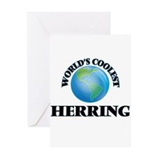 World's Coolest Herring Greeting Cards