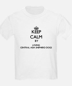 Keep calm by loving Central Asia Shepherd T-Shirt