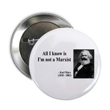 Karl Marx Quote 10 Button