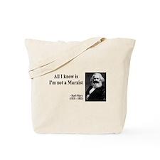 Karl Marx Quote 10 Tote Bag