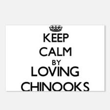 Keep calm by loving Chino Postcards (Package of 8)