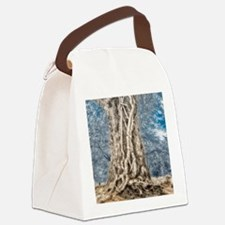 Infrared: Tree with Vines Canvas Lunch Bag