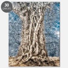 Infrared: Tree with Vines Puzzle