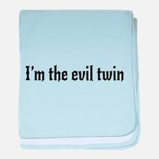 I'm the evil twin baby blanket