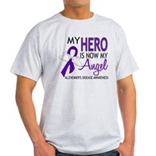 Alzheimers Hero Now My Angel T-Shirt