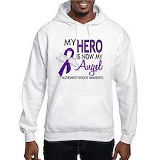 Alzheimers Hero Now My Angel Hoodie