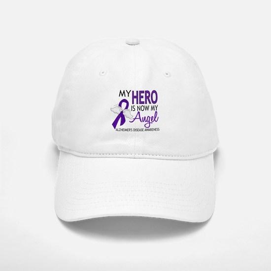 Alzheimers Hero Now My Angel Baseball Baseball Cap