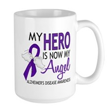 Alzheimers Hero Now My Angel Mug