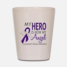 Alzheimers Hero Now My Angel Shot Glass