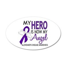 Alzheimers Hero Now My Angel Wall Decal