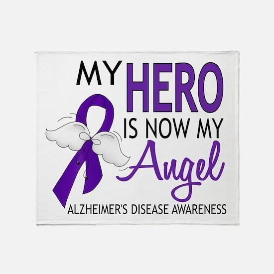 Alzheimers Hero Now My Angel Throw Blanket