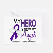 Alzheimers Hero Now My Angel Greeting Card