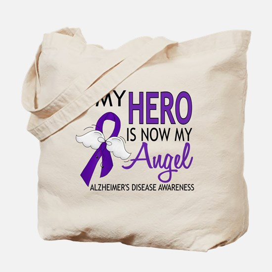 Alzheimers Hero Now My Angel Tote Bag