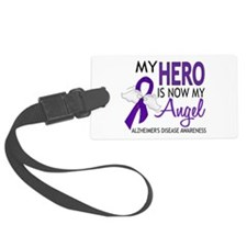 Alzheimers Hero Now My Angel Luggage Tag