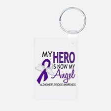 Alzheimers Hero Now My Ang Aluminum Photo Keychain