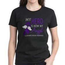 Alzheimers Hero Now My Angel Tee