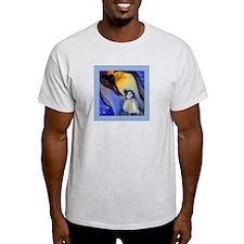 Devoted Dad Penguin T-Shirt