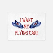 I Want My Flying Car 5'x7'Area Rug