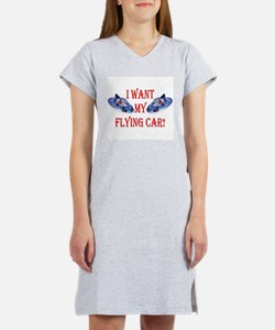 I Want My Flying Car Women's Nightshirt