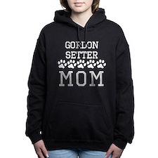 Gordon Setter Mom Women's Hooded Sweatshirt