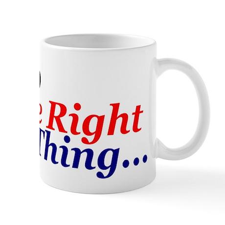Do the right thing! Mug