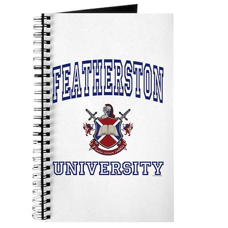 FEATHERSTON University Journal