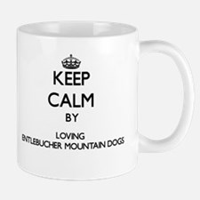 Keep calm by loving Entlebucher Mountain Dogs Mugs