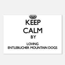 Keep calm by loving Entle Postcards (Package of 8)