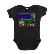 Autism How Strong We Are Baby Bodysuit