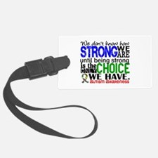 Autism How Strong We Are Luggage Tag