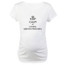 Keep calm by loving German Pinsc Shirt