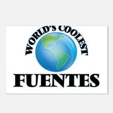 World's Coolest Fuentes Postcards (Package of 8)