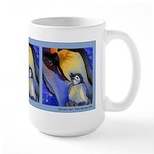 Devoted Dad Penguin Mug