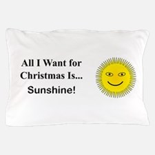 Christmas Sunshine Pillow Case