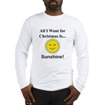 Christmas Sunshine Long Sleeve T-Shirt