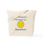 Christmas Sunshine Tote Bag