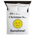Christmas Sunshine Queen Duvet