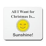 Christmas Sunshine Mousepad