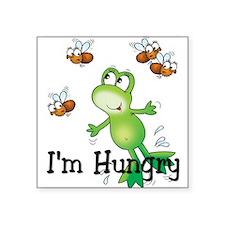"""Cute Love frogs Square Sticker 3"""" x 3"""""""