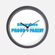 Snowshoe Parent Wall Clock
