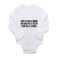 Cunning Long Sleeve Infant Bodysuit