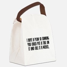 Cunning Canvas Lunch Bag