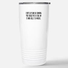 Cunning Stainless Steel Travel Mug