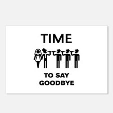 Time To Say Goodbye (Team Postcards (Package of 8)